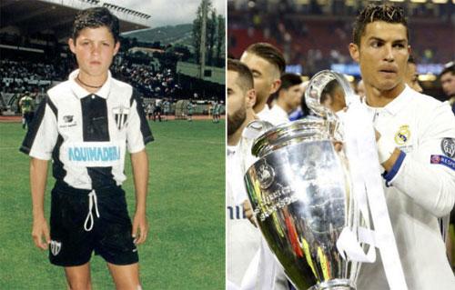 Ronaldo kể chuyện lén tập vào ban đêm khi mới 11 tuổi