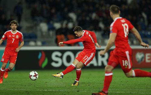 Xứ Wales giành chiến thắng quan trọng khi vắng Bale
