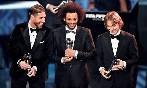 Real Madrid thống trị đề cử Quả Bóng Vàng