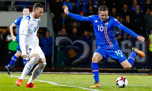 Sigurdsson tỏa sáng, giúp Iceland lần đầu dự World Cup