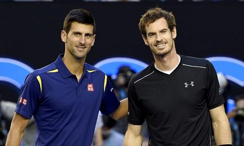 Murray và Djokovic trở lại tại Australia Mở rộng 2018