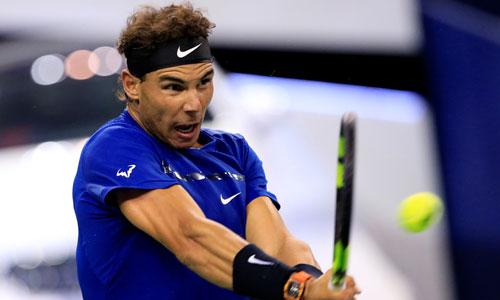 Nadal thẳng tiến vào vòng ba Thượng Hải Masters