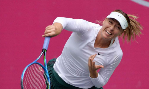 Sharapova vào tứ kết Thiên Tân Mở rộng