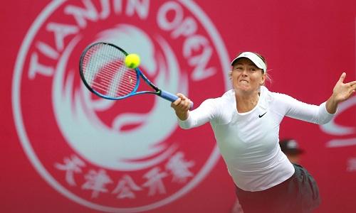 Loại đương kim vô địch, Sharapova vào chung kết Thiên Tân Mở rộng