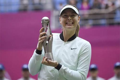 Sharapova giành danh hiệu đầu tiên sau 2 năm