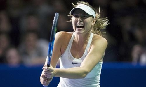 Sharapova thua trận ra quân Kremlin Cup