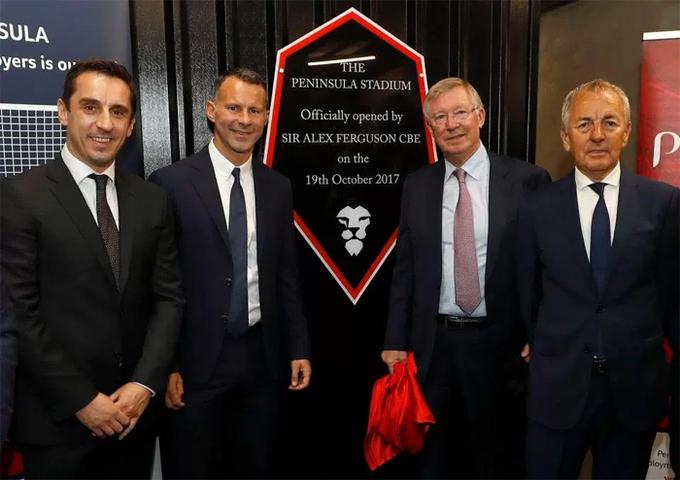 Ferguson hội ngộ Neville, Giggs và Scholes