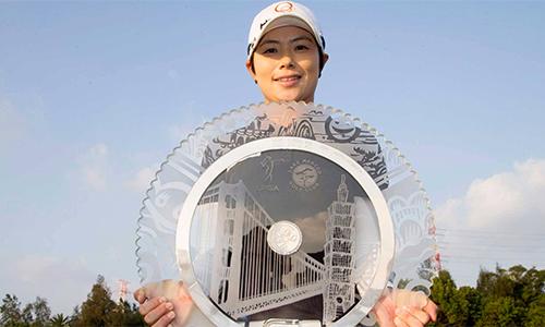 Ji Eun-hee vô địch LPGA Taiwan Championship với cách biệt lớn nhất mùa