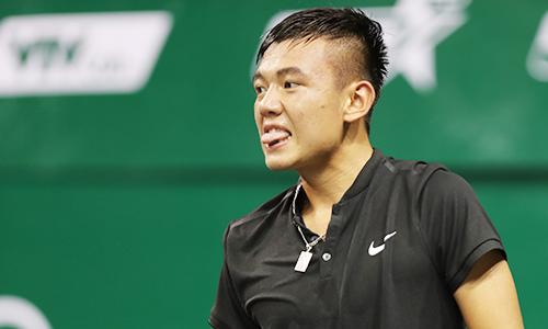 Lý Hoàng Nam chia tay Vietnam Open