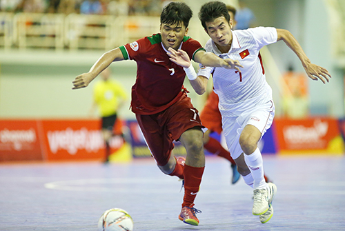 Video: Futsal Việt Nam vs Futsal Indonesia