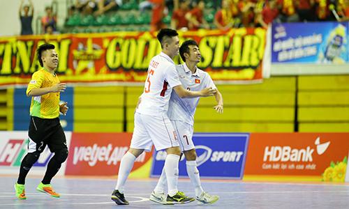 Việt Nam toàn thắng ở vòng bảng giải futsal Đông Nam Á