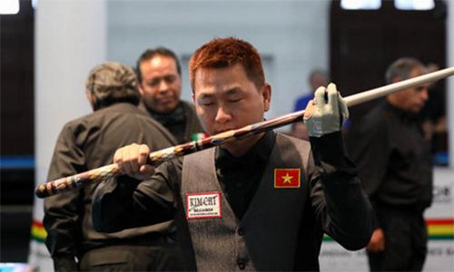 Minh Cẩm thua penalty, nhận HC đồng giải billiards thế giới