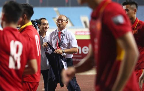 HLV Park Hang-seo mong được thông cảm vì mới nhận tuyển Việt Nam