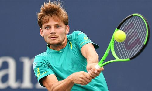 Goffin thắng ngược Thiem, gặp Federer ở bán kết ATP Finals