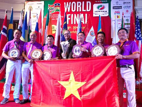 Đội tuyển TPBank WAGC Việt Nam làm nên kỳ tích khi lần đầu tiên vô địch thế giới.