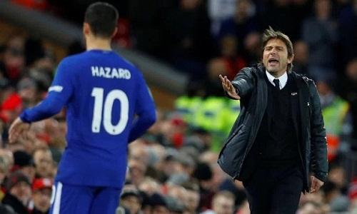 Hazard thừa nhận Chelsea chủ trương đá phòng ngự trước Liverpool