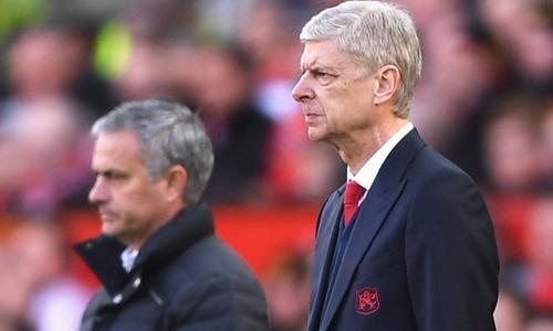 Wenger mong Mourinho không chơi phòng ngự tiêu cực - Ảnh 1.