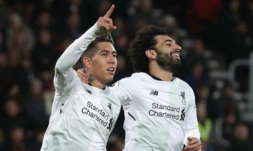 Liverpool lập kỷ lục phá lưới trên sân khách