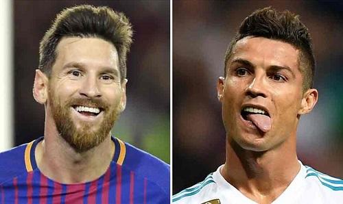Chân Ronaldo đáng giá gấp đôi chân Messi