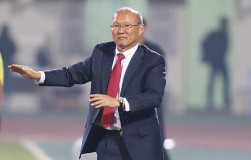 HLV Park Hang-seo muốn cùng U23 Việt Nam tạo kỳ tích tại giải U23 châu Á. Ảnh: Lâm Thỏa