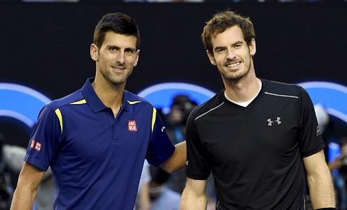 Djokovic và Murray có thể không dự Australia Mở rộng 2018. Ảnh: AFP.