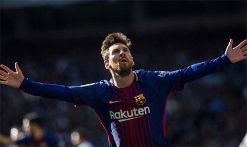 Vượt Ronaldo, Messi giữ vị trí cầu thủ ghi bàn nhiều nhất năm