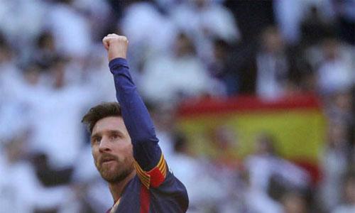 """Báo thân Real gọi Messi là """"Vua của El Clasico"""""""