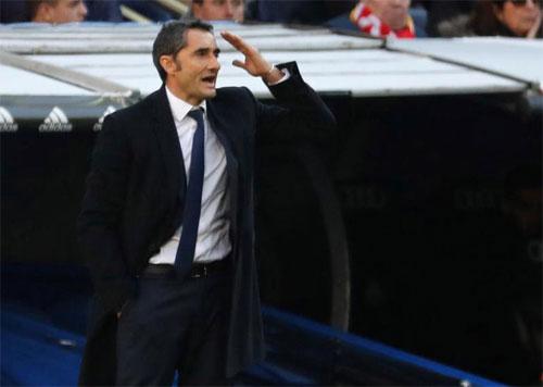 """Valverde: """"Khi Barca dẫn 2-0, tôi không nghĩ Real thua"""""""