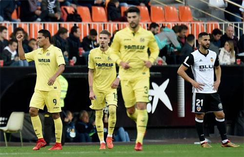 Valencia thua trận, lỡ cơ hội chiếm lại vị trí thứ hai La Liga