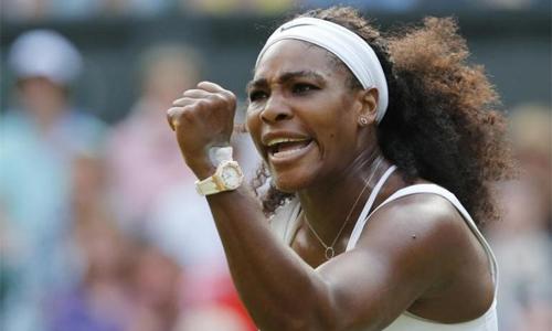 Serena trở lại sau gần một năm vắng bóng. Ảnh: Reuters.