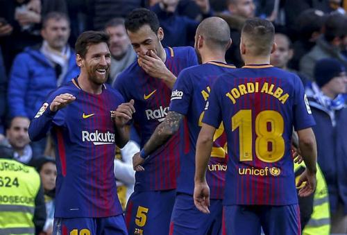 Barca vừa đánh bại Real 3-0 ở El Clasico. Ảnh: Marca.