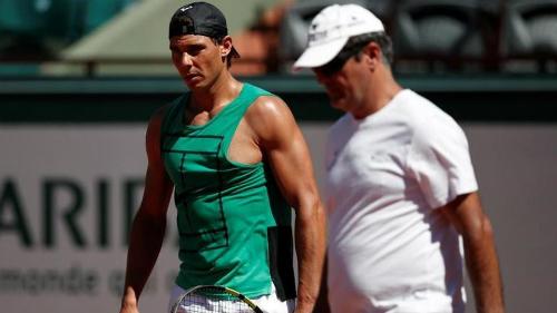 Toningừng huấn luyện Rafa Nadal từ năm 2018. Ảnh: Reuters.