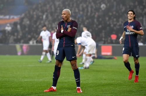 Mbappe muốn vô địch Champions League 2017-2018 cùng PSG. Ảnh: AFP.