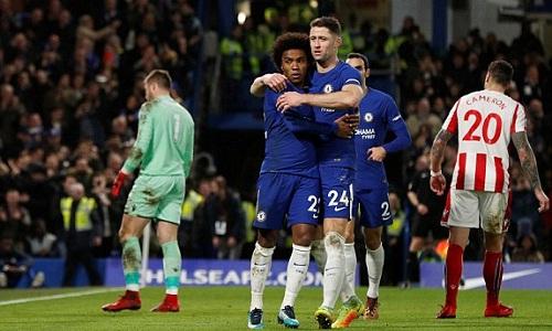 Chelsea có chiến thắng dễ dàng ở trận đấu cuối năm. Ảnh: Reuters.