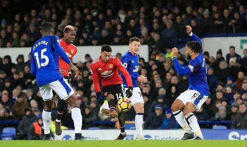 Lingard ghi bàn thắng thứ sáu tại Ngoại hạng Anh kể từ đầu tháng 12. Ảnh:PA.