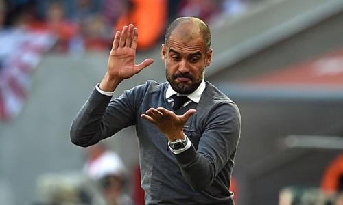 Guardiola muốn học trò tập trung vào từng trận đấu. Ảnh: PA.