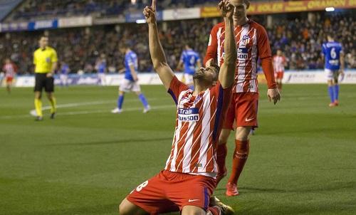Diego Costa nổ súng trong ngày về ra mắt Atletico