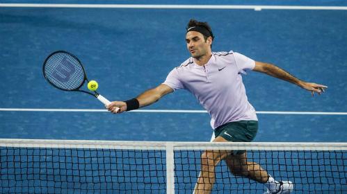 Federer tiếp tục thắng ở Hopman Cup 2018. Ảnh: EPA.