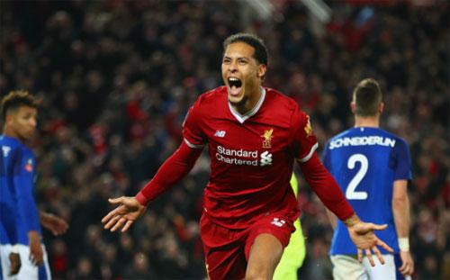 Liverpool lập kỷ lục mới về chuỗi bất bại ở derby Merseyside
