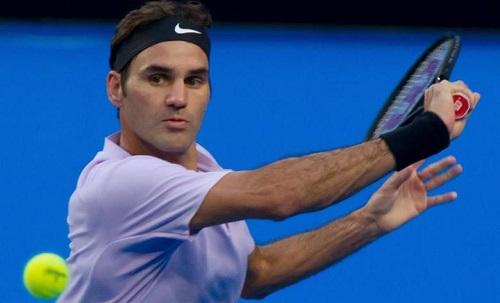 Federer không để mất break trong cả trận, dù thua một set. Ảnh: AFP.