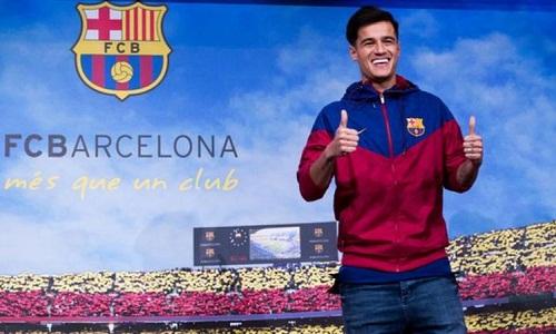 Việc chiêu mộ Coutinho đi ngược lại những tuyên bố trước đây của Barca. Ảnh: AFP.