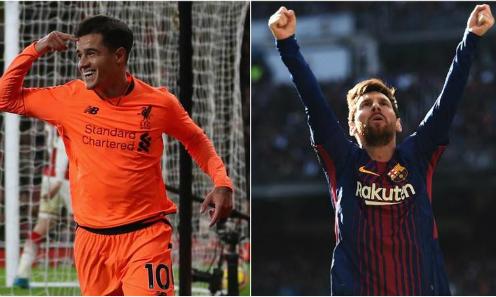 Coutinho nằm trong kế hoạch thay thế Messi của Barca