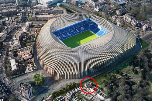 Sân vận động tỷ đô của Chelsea bị đe dọa bởi một gia đình - ảnh 1