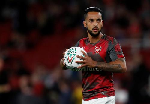 Walcott chỉ còn đóng vai trò dự bị ở Arsenal. Ảnh: Reuters.