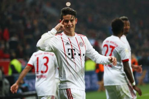 Bayern có khởi đầu thuận lợi trong năm 2018. Ảnh:AFP.