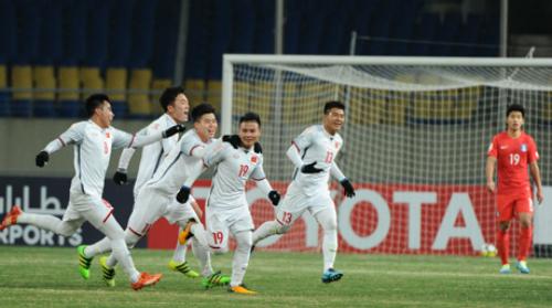 Việt Nam có màn trình diễn khá ấn tượng trước đương kim á quân giải U23 châu Á Hàn Quốc. Ảnh: AFC