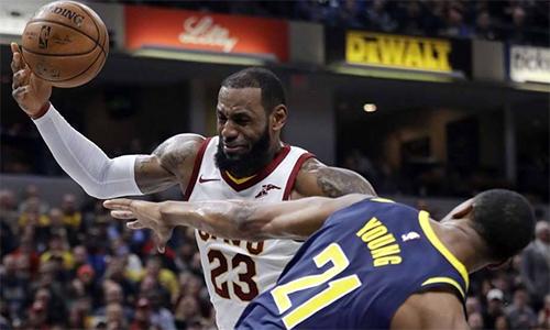 LeBron James mắc lỗi, khiến Cavaliers thua dù dẫn 22 điểm - ảnh 1