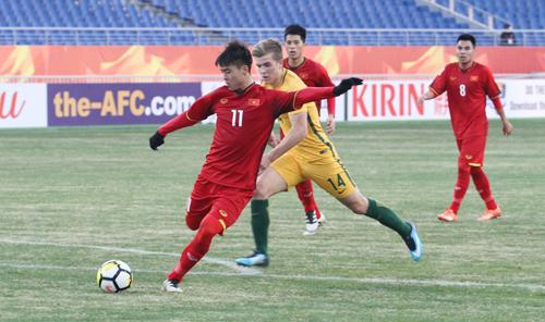 Việt Nam đang gây ấn tượng mạnh tại giải U23 châu Á. Ảnh: Hoàng Linh