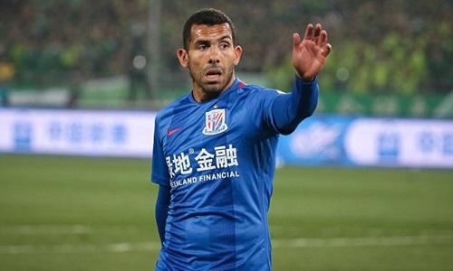 Tevez chỉ chơi bóng bảy tháng tại Trung Quốc. Ảnh: EPA.