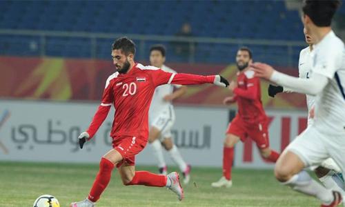 Ahmad là nhân tố quan trong ở tuyến giữa U23 Syria. Ảnh: AFC.